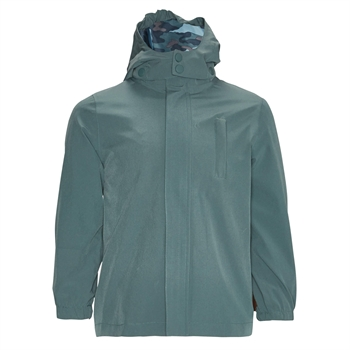 byLindgren - Little balder rain jacket - Ocean green