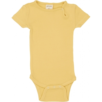Petit Piao - Modal S/S body - Yellow