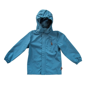 byLindgren - Little birk rain jacket - Petroleum