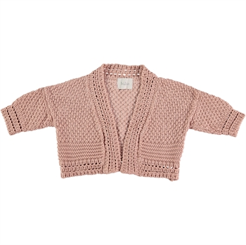 Búho - Estelle cardigan - Rose